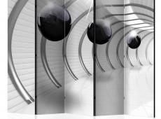Paraván - Futuristic Tunnel II II [Room Dividers]